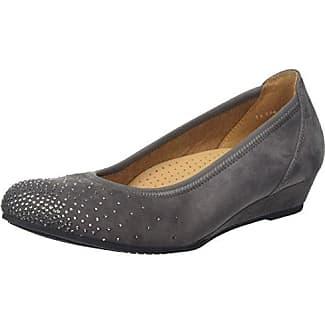 Gabor Shoes Gabor Jollys, Mules Para Mujer, Gris (Stone Glitter), 39 EU