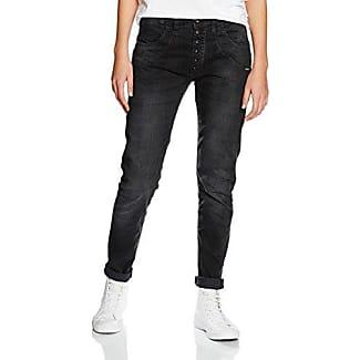 Womens Rose-Tie Velvet Print Jeans Gang