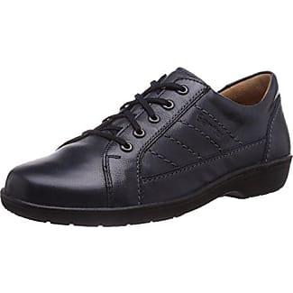Ganter SENSITIV HELGA, Weite H - Zapatos de cordones para mujer, color schwarz (schwarz 0100), talla 36
