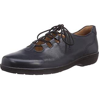 Ganter Anke, Weite G - Zapatos De Cordones para mujer, color schwarz 100, talla 37