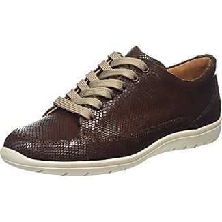 Gill, Weite G, Zapatos de Cordones Derby para Mujer, Negro (Schwarz 0100), 38.5 EU Ganter