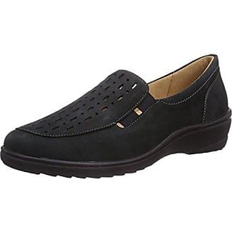 Ganter ANKE, Weite G - Zapatos de cordones para mujer, color blau (ozean 3000), talla 36