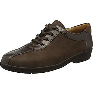 Ganter 20882101000 - Zapatos de cordones para mujer, Negro (Negro 0100), 41