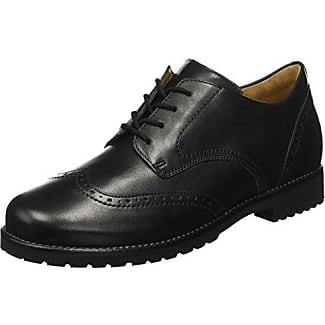 Ganter Fiona - Zapatos de cordones para mujer negro negro jUF1Bq