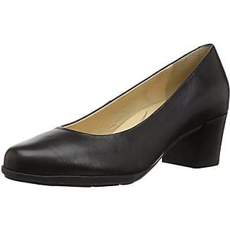 Geox D Annya C Zapatos de Tacón Mujer, Negro (Black), 39 EU (6 UK)