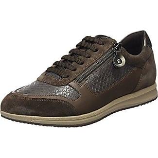 D Ophira E, Zapatillas para Mujer, Marrón (Dk Coffee/Black), 41 EU (7.5 UK) Geox