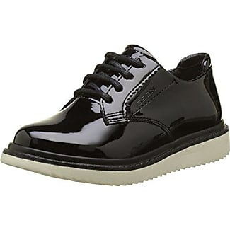 Geox J Android Girl B, Zapatillas para Niñas, Negro (Black C9999), 38 EU
