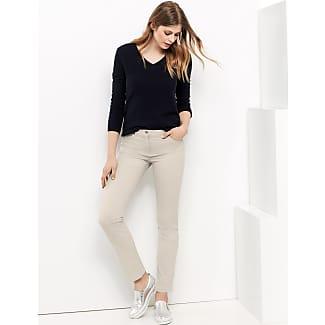 Figure-shaping trousers - Best4me ecru-beige female Gerry Weber