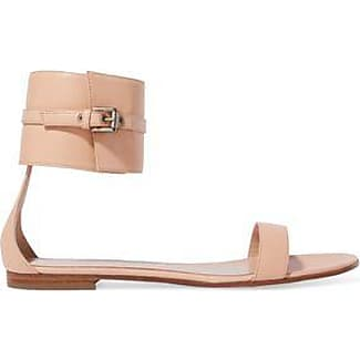 Gianvito Rossi Woman Capri Patent-leather Slides Size 37.5