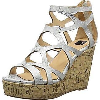 Zapatos plateado Giudecca para mujer