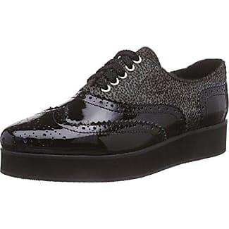 Giudecca JY1507-1 - Zapatillas de casa de Cuero Mujer, Color Negro, Talla 39
