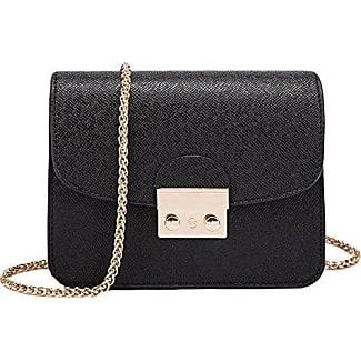 Damen-Tasche Schulter Messenger Messenger Bag Rezept Paket Weihnachtsgeschenk,Blue1-OneSize GKKXUE