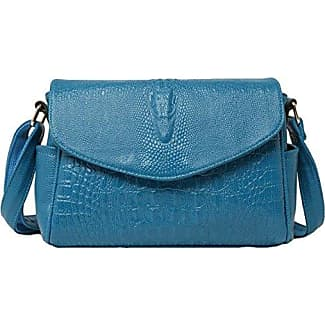 Schulter Schulter Frauen Casual Messenger Bag,Blue-OneSize GKKXUE