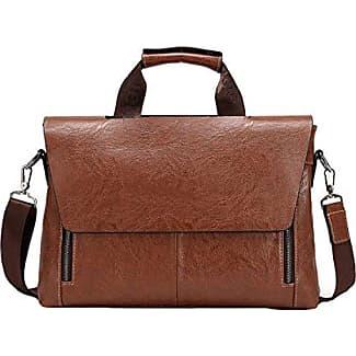 Retro Handtasche Schultertasche Messenger Bag Handtasche Frau Paket Lässige Mode,Black-OneSize GKKXUE