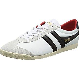 Gola Monaco, Zapatillas para Hombre, Gris (Grey/White/Red Gw), 42 EU