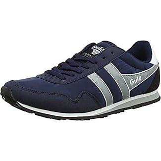 Gola Monaco, Zapatillas para Hombre, Azul (Navy/Grey/White), 41 EU
