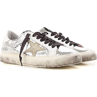 Sneakers for Women On Sale, White, Leather, 2017, 2.5 3.5 Golden Goose