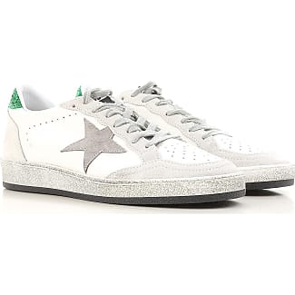 Sneakers for Women On Sale, Silver, Suede leather, 2017, 2.5 3.5 4.5 5.5 7.5 Golden Goose