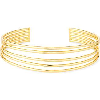 Gorjana Lola Sculptural Cuff Bracelet, Gold