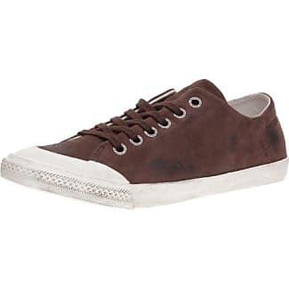 Groundfive - Zapatillas de cuero para mujer, color marrón, talla 40