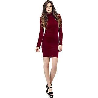Fluwelen rode jurk