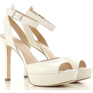 Pumps & High Heels for Women On Sale, Cream, Leather, 2017, 3.5 4.5 5.5 7.5 Guess