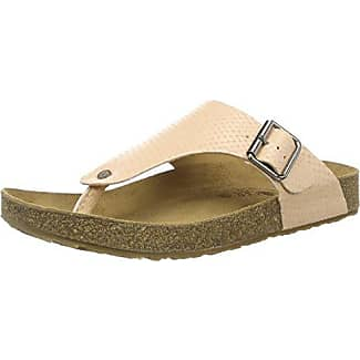 HaflingerConny - Mules Mujer, Color Blanco, Talla 36