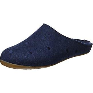 Haflinger Everest Soho, Zapatillas de Estar por Casa para Mujer, Azul (Jeans 72), 42 EU