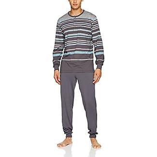 Mens Schlafanzug Premium De Luxe Pyjama Sets Hajo