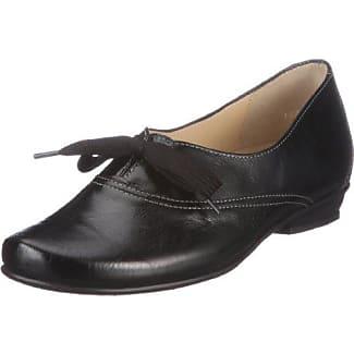 0-301730-0100 - Zapatos de cuero para mujer, color negro, talla 36 Hassia