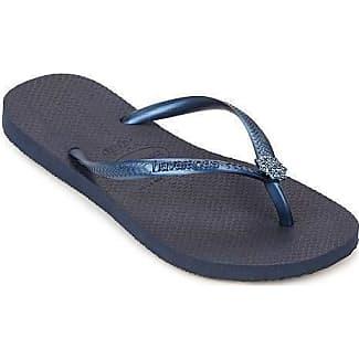 Havaianas Women's Simpsons Sandal Flip Flop, Blue, 39 BR/9/10 W US