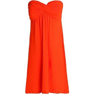 Heidi Klein Woman Printed Stretch-jersey Halterneck Maxi Dress Orange Size III Heidi Klein