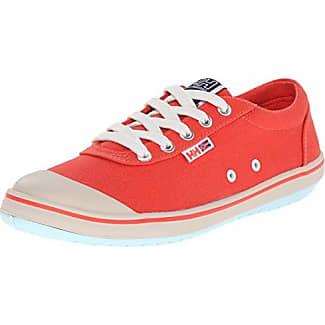 Helly Hansen W Scurry LO, Zapatillas de Deporte Exterior para Mujer, Rojo (145 Magneta/Deep Steel/Off), 36 EU