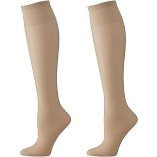 3-pack Shiny Nylon Knee-socks 20 Denier (Anthracite) HEMA