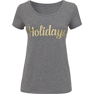 Women&aposs T-shirt (White/black) HEMA