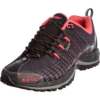 Hi-Tec Haraka W' - Zapatillas para Mujer, Color Negro (Black/White/Raspberry 022), Talla 38