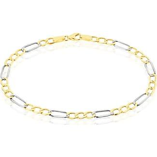 Bracelet or bicolore histoire d'or