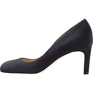 22425, Zapatos de Tacón para Mujer, Azul (Navy Metallic 824), 38 EU Marco Tozzi