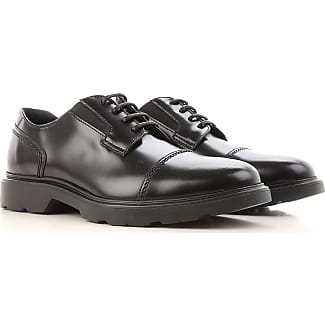 Lace Up Shoes for Men Oxfords, Derbies and Brogues On Sale, Black, Leather, 2017, 10 11 7 8.5 9 9.5 Hogan