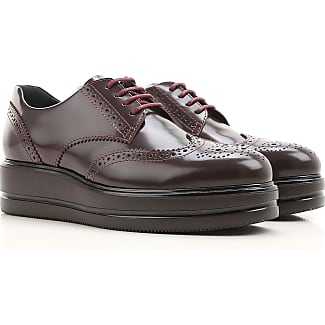 Lace Up Shoes for Men Oxfords, Derbies and Brogues On Sale, Light Grey, suede, 2017, 6 6.5 7 7.5 8 8.5 Hogan