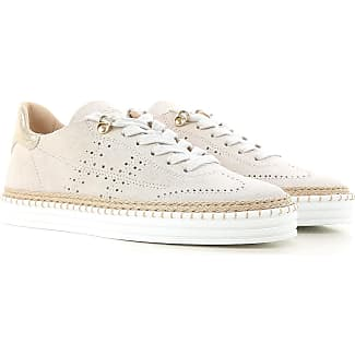 Sneakers for Women, White, Leather, 2017, 2.5 3 3.5 4 4.5 5.5 6 7.5 Hogan