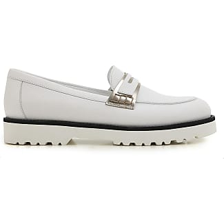 Loafers for Women On Sale in Outlet, Sand, Leather, 2017, 4 7.5 Hogan