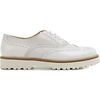 Brogues Oxford Shoes On Sale, White, Leather, 2017, 3.5 4.5 5.5 6.5 7.5 Miu Miu