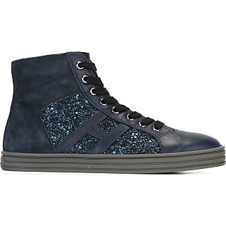 Sneakers for Women, Navy Blue, Leather, 2017, 3 3.5 7 7.5 Hogan