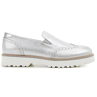 Loafers for Women On Sale in Outlet, White, Leather, 2017, 3 3.5 4.5 Hogan