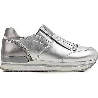 Sneakers for Women On Sale in Outlet, Silver, Leather, 2017, 7 7.5 Hogan
