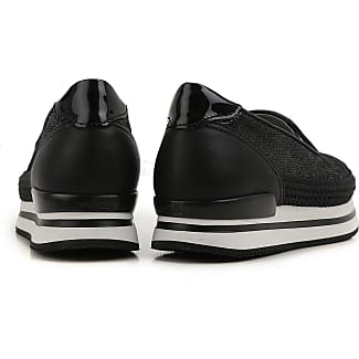 Sneakers for Women On Sale, Black, Neoprene, 2017, 3 Hogan