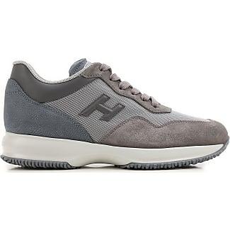 Sneakers for Men On Sale, Medium Grey, Suede leather, 2017, 6.5 Hogan