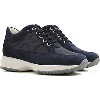 Sneakers for Women, Blue Denim, Suede leather, 2017, 2.5 3 3.5 4 4.5 5.5 6 7 7.5 Hogan