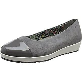 HotterGlove - Zapatos de Tacón con Punta Cerrada Mujer, Color Gris, Talla 35.5